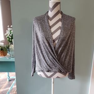 Maurices wrap sweater